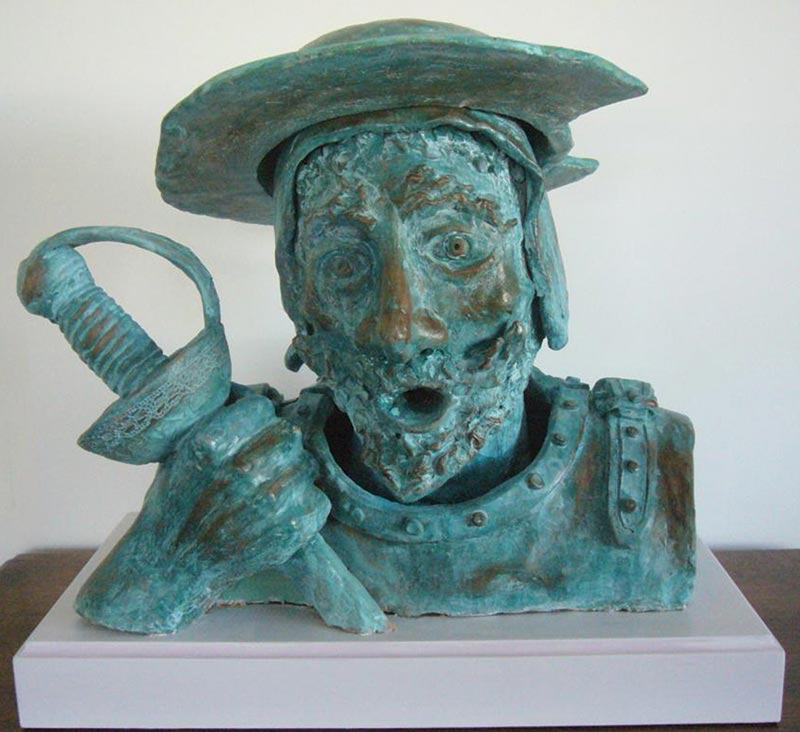 Don Quichotte - 1500€ - Bronze